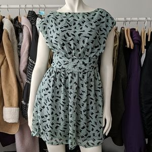 5/$100 Mint Green Cat Dress